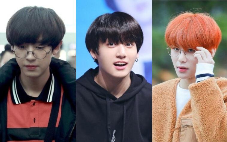 6 Idola K Pop Yang Masih Terlihat Ganteng Dengan Potongan Mangkok Kepoper