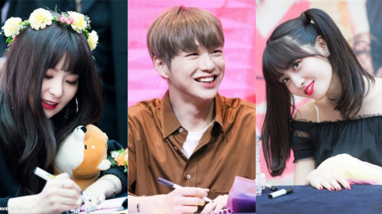7 Idola K Pop Yang Punya Tanda Tangan Lucu Nan Unik Kepoper
