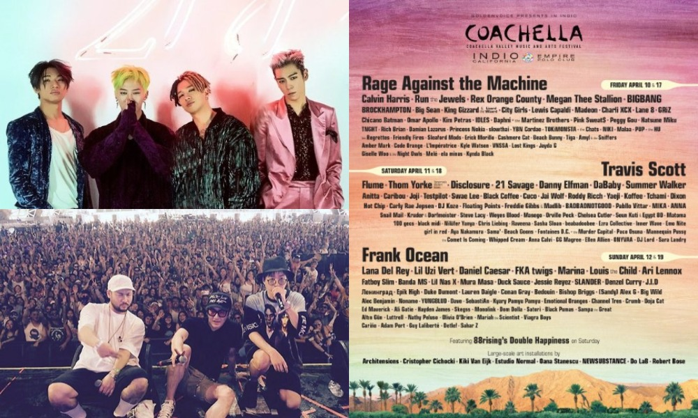 BIGBANG dan Epik High Tampil di Coachella 2020 April Ini ...