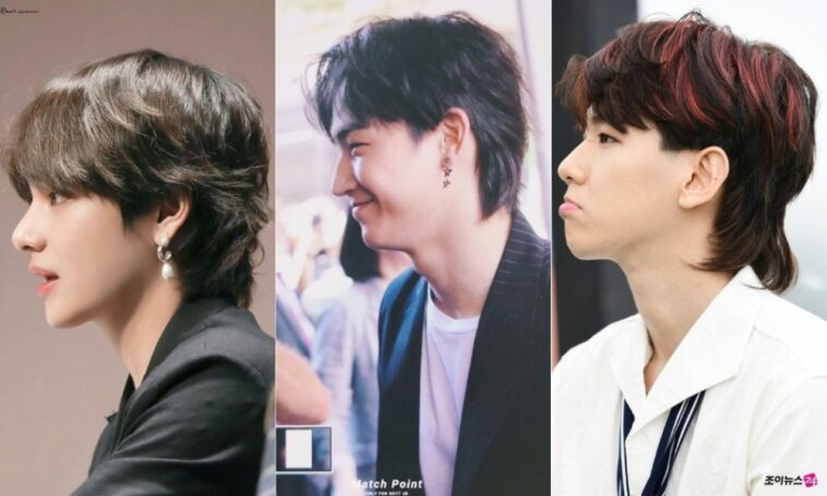 6 Idola K-Pop yang Terlihat Kece dengan Gaya Rambut Mullet - KEPOPER