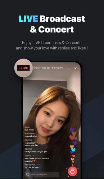 VLive app