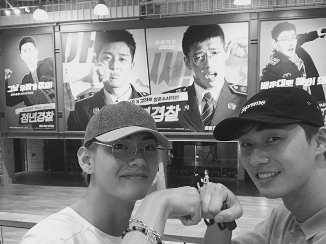V Bts Park Seo Joon Adalah Ciri Friendship Goals Sejati